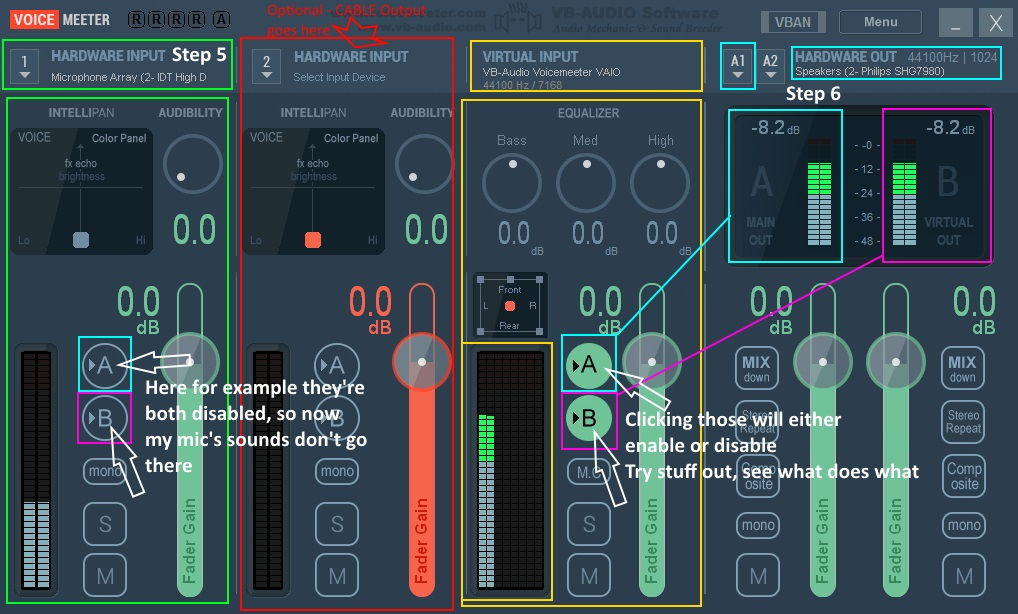 How To Play Music Through Mic Using Voicemeeter And A Soundboard